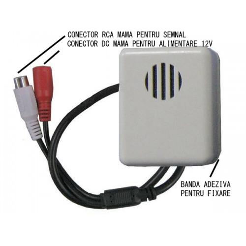 AM002/ Microfon pentru sisteme de supraveghere video