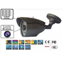 GS-700ACT159IR60/ Cameră de supraveghere analogică 700 TVL cu cipset Sony de exterior