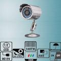 TC-3052/ Cameră de supraveghere CCD color Waterproof 540 TVL cu 26 leduri IR  de interior/exterior cu vedere de noapte
