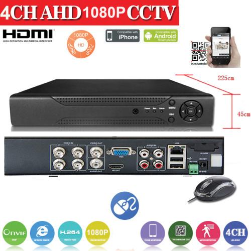 AHD2004Z/ AHD DVR 4 canale 1080N(960*1080)  compatibil cu camerele AHD de 1,1.3 si 2 Mpixeli