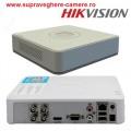 DS-7104HQHI-K1/ DVR HIKVISION cu 4 canale video 2 MP  și 1 canal audio, H.265