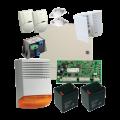 KIT1616EXT-BS1/ Kit alarma la efractie DSC cu sirena exterioara(2 Piri)