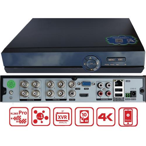 XVR-3208FC/ Pentabrid DVR AHD / TVI / Analog / IP camere cu 8 canale 4K(8Mp)