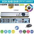 XVR4008L/ Pentabrid DVR AHD cu 8 canale 4 Mpixeli (2688x1520) sau 3 Mpixeli AHD (2048x1536 )/ IP 4x5 Mpixeli/ ANALOG 8x960H/ 8xTVI 1080P (acest DVR lucrează foarte bine cu camerele AHD-2/3/4 Mpixeli)