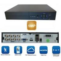 XVR5008N/  Pentabrid DVR cu 8 canale 5Mp compatibil cu camerele Analog/AHD/HD‐CVI/HD‐TVI/IP