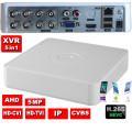 XVR-2908BK/  Pentabrid DVR cu 8 canale 5Mp compatibil cu camerele Analog/AHD/HD‐CVI/HD‐TVI/IP