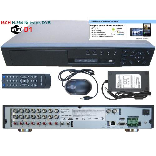SEDVR-6316FDM/ DVR cu 16 canale video și 8 canale audio full D1