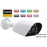 UV-AHDBN515/ Cameră de supraveghere AHD (3 Mpixeli) de exterior/interior pentru 20 metri pe timp de noapte și lentilă fixă de 3,6 mm