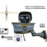 UV-HDBZ908/ Cameră de supraveghere  (3 Mpixeli) de exterior pentru 25-30 metri pe timp de noapte și lentilă reglabilă între 2,8-12 mm