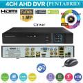 XVR4004/ Pentabrid DVR cu 4 canale 3 Mpixeli AHD (2048x1536 )/ IP 4x5MP/ ANALOG 4x960H/ 4xTVI 1080P