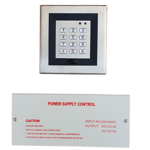 DA-9008/ Sistem control acces (cu cartele și cod) și sursă de alimentare