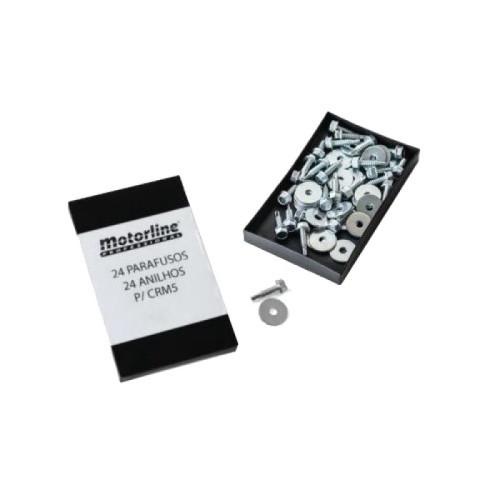 MCP24/ Set șuruburi și șaibe pentru montaj cremalieră CRM5