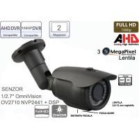 UV-AHDBP708/ Cameră de supraveghere full HD (1080P) de exterior cu lentilă reglabilă între 2,8-12 mm