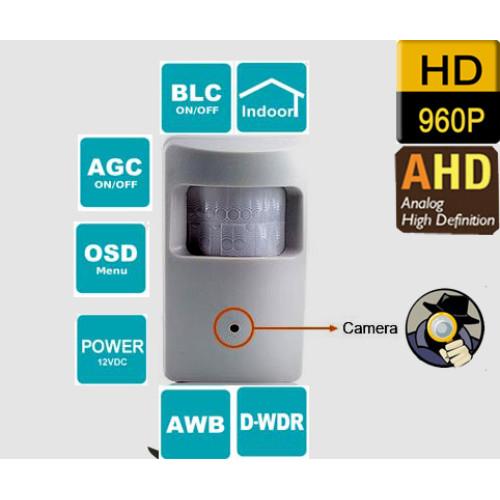 UV-AHDCE102/ Cameră de supraveghere AHD (1,3 Mpixeli) tip pinhole de interior cu lentilă de 3,7 mm