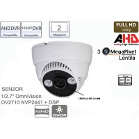 UV-AHDBP314 Camera supraveghere Full AHD (1080P)de interior cu 2 leduri IR array