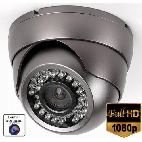 UV-AHDDP401/ Cameră de supraveghere full HD (1080P) de interior cu 24 leduri IR  și vedere  pe timp de noapte pentru distanțe de 15-20 metri
