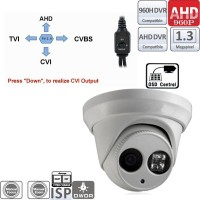 UV-HDBM302/ Camera supraveghere  AHD/CVI/TVI/ Analog 4 in 1AHD (960P) tip dome de interior cu 1 led IR ARRAY