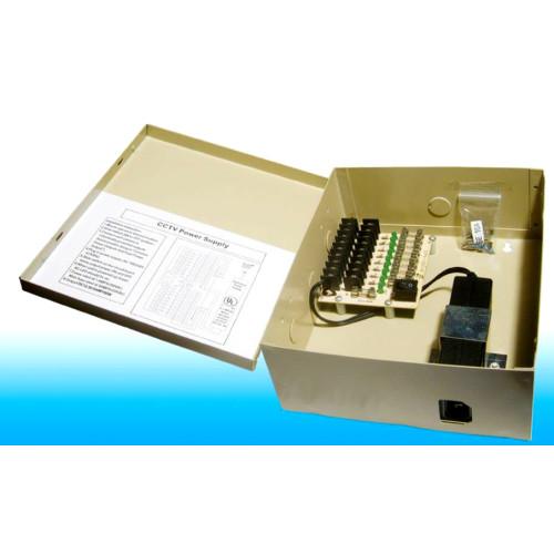 PS-09DC/ Sursă de alimentare pentru maxim 9 camere de supraveghere 12V/5A