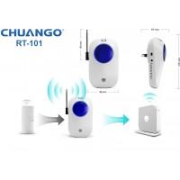 RT-101/ Amplificator semnal wireless compatibil cu sistemele de alarmă CHUANGO GO2 și CG-G5