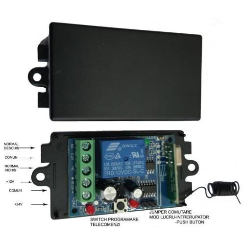 SMG-801-V4/ Kit automatizări 1 canal, 12 V-24 V